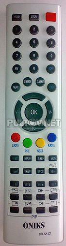KPT5A-C11, ONICS KLC5A-C1 , RENOVA TVD-24 пульт для телевизора
