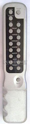 #0089 пульт для акустики 5.1 ONIKS D-890 и ONIKS D-5309 (вариант 2)