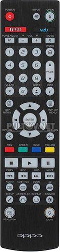 Oppo BDP-103 пульт для Blu-ray плеера