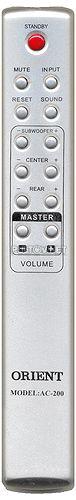 ORIENT AC-200 пульт для акустики