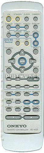 RC-453S пульт для AV-ресивера ONKYO TX-L5