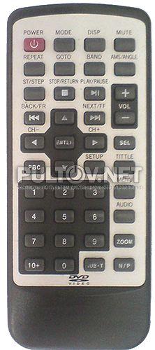SDD-163, PIONEER #0127, JVC JM-258 пульт для автомобильного DVD (китайского)