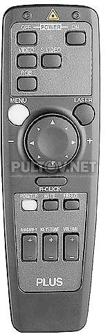 Plus U2-811 пульт для проектора PLUS