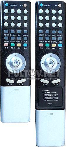RC-101, RC-I01 пульт для телевизора Prima P42R8