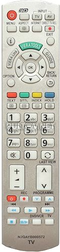 N2QAYB000572 неоригинальный пульт для телевизора Panasonic TX-LR32DT30