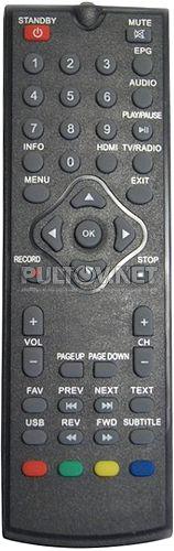Patix Digital PT-100 пульт для DVB-T2-ресивера