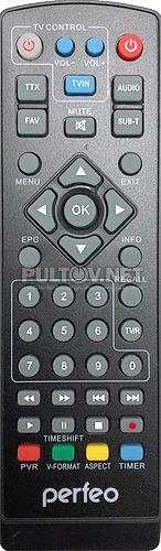 A4351 пульт для DVB-T2-ресивера Perfeo