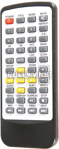 SR-001, TO-007 пульт для мультимедийного DVD-ресивера Phantom DV-6202