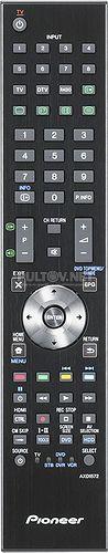 AXD1572 (RRMCGA687WJSA) пульт ДУ для ЖК-телевизора Pioneer KRL-32V