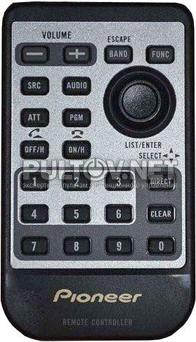 CXC7555, CD-R510 оригинальный пульт для автомагнитолы Pioneer DEH-P65BT