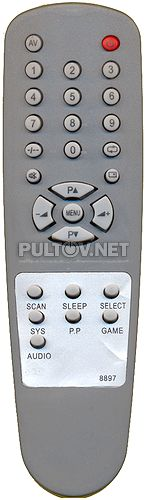 8897, 4GA1-901 пульт для телевизора 72CTV3358
