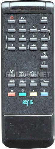 RCF16 пульт для телевизора PRIMA XT-5155