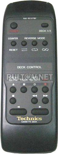RAK-RS107WH пульт для кассетной деки Technics RS-TR575