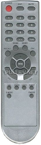 RC-0025, AKIRA CT-29USL5AN-TT пульт для телевизора AKIRA и ERISSON