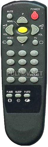 RC-0201 , POLAR RC-0201 пульт ДУ для телевизора