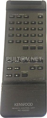 RC-1000D пульт для CD-проигрывателя Kenwood L-1000D