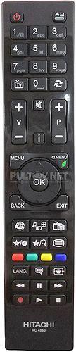 RC4860 пульт для телевизора Hitachi 32HXT55R и других