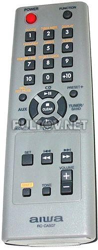 RC-CAS07 (U0005659U) пульт для CD-стерео системы AIWA XR-EM20