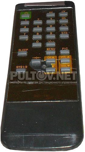 RC-F61 пульт для телевизора EVGO XT-2590