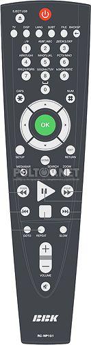 RC-NP101 пульт для медиаплеера BBK NP103S