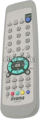 IIYAMA RC-PLE01 пульт для телевизора / монитора IIYAMA ProlLite c480t