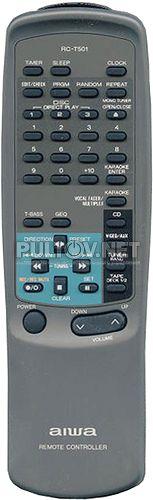 RC-T501 пульт для музыкального центра Aiwa NSX-V50