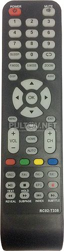 RC02-T338 пульт для телевизора Supra STV-LC32LT0060F