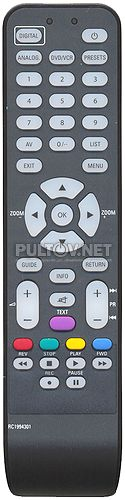 RC1994301 (3139 238 16542) , TCL RC1994301 пульт для телевизора Thomson