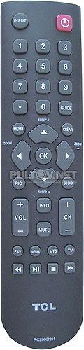 RC2000N01, RC2000N02 пульт для телевизора TCL 48FS4690 и др.