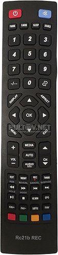 RC21b REC пульт для телевизора Horizont 19LE5206D