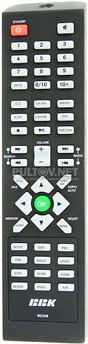 RC226 пульт для акустической системы BBK SB226HD