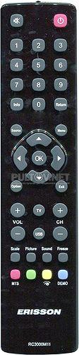 RC3000M11 пульт для телевизора Mystery и ERISSON