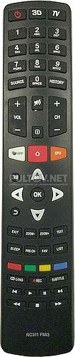 RC311FMI3 пульт для телевизора TCL L50C1US