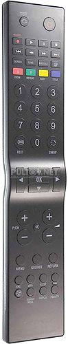 RC5100 пульт для телевизора Hitachi 19H8L02-R и др.