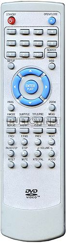 REELLEX DC-8220 пульт для DVD- плеера