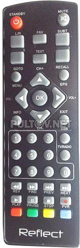 Reflect Digital пульт для DVB-T2 ресивер