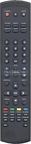 Reflexion LDD2880 пульт для телевизора