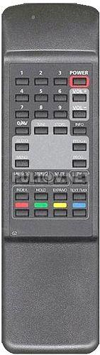 G2 пульт для телевизора REKORD 51ТЦ5171, Continental 51TC651D