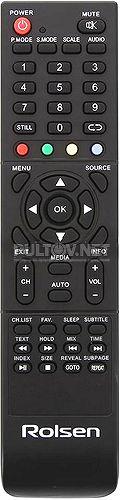 RL-19E1301GU пульт для телевизора Rolsen