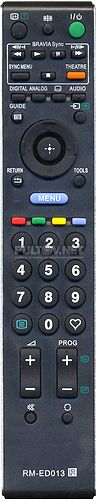 RM-ED013 НЕоригинальный пульт для телевизора SONY KDL-40S4000 и других