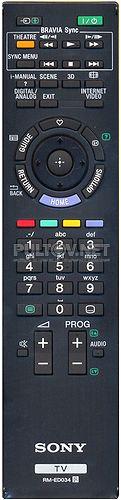 RM-ED034 оригинальный пульт для 3D телевизора Sony KDL-40HX800 и других