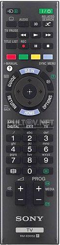 RM-ED052 оригинальный пульт для телевизора SONY KDL-55W805A и других