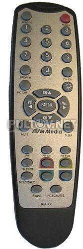 RM-FX оригинальный пульт для TV-тюнера AverMedia BOX7 и других