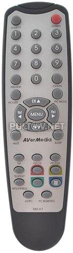 RM-H7, RM-J9 пульт для ТВ-тюнера AVERMEDIA