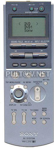RM-LJ312 оригинальный пульт для AV-ресивера 7.1 Sony STR-DA5000ES