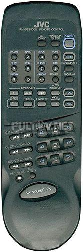 RM-SES500U, RM-SES700RUKP пульт для музыкального центра JVC