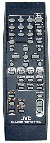 RM-SUXH30U, RM-SUXH35U, RM-SUXH30R, RM-SUXH35R пульт для музыкального центра JVC UX-H30 и др.