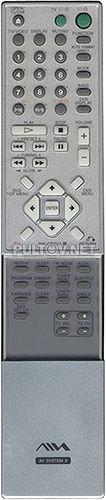 RM-Z20012 пульт для домашнего кинотеатра AIWA AVJ-X33
