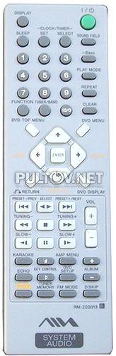 RM-Z20013 пульт для музыкального центра Aiwa CX-JD5
