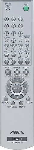 RM-Z400E пульт для DVD-плеера Aiwa